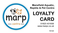 Loyalty Card at the Marp Centre